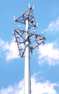 Fixed wireless cellular service offers reliable rural broadband service...